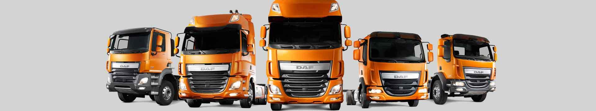модельный ряд грузовиков DAF