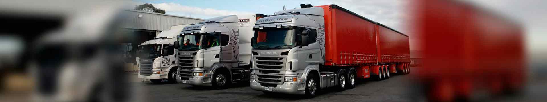 Модельный ряд грузовых автомобилей Scania