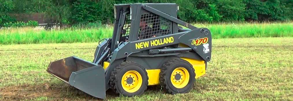 Погрузчик Нью Холланд