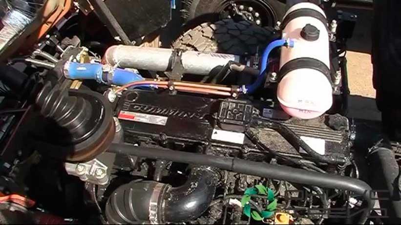 диагностика двигателя Cummins установленный на Камазе