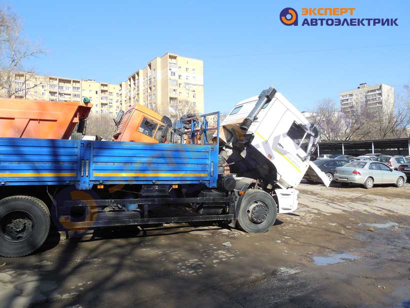 подключение генератора КАМАЗ