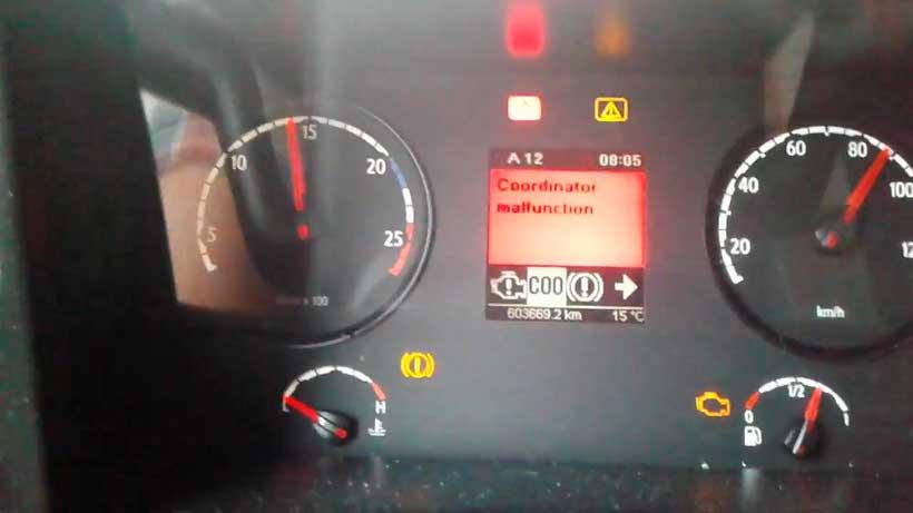 ремонт блока Coordinator Scania с выездом