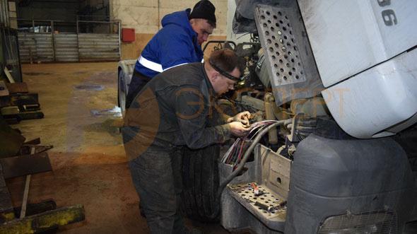 ремонт жгута электропроводки грузового автомобиля в автосервисе Электросталь