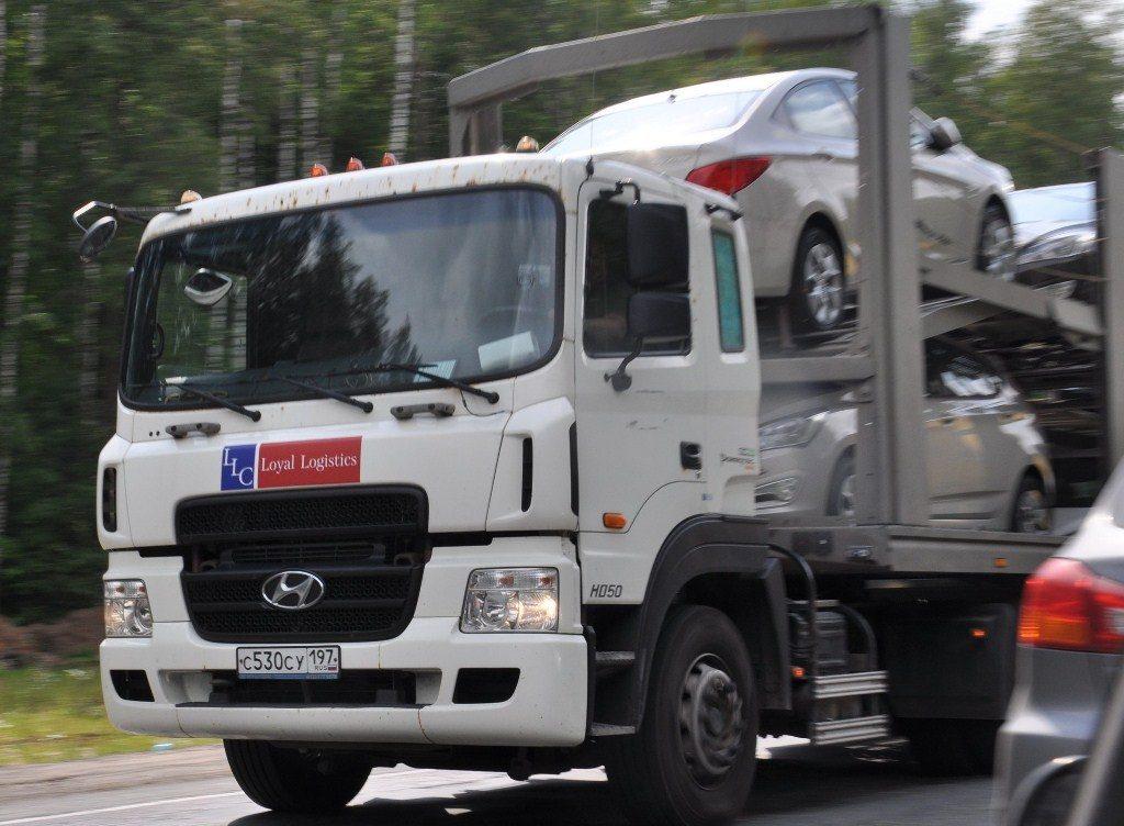 грузовой автомобиль Хендай ШД-500