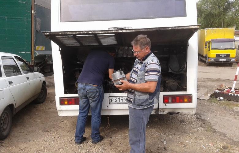 Диагностика и ремонт автобуса