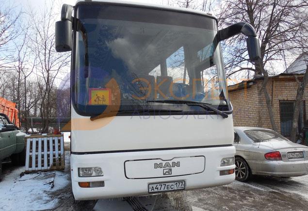 Диагностика и ремонт автобуса МАН