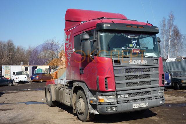 Диагностика делителя КПП Scania