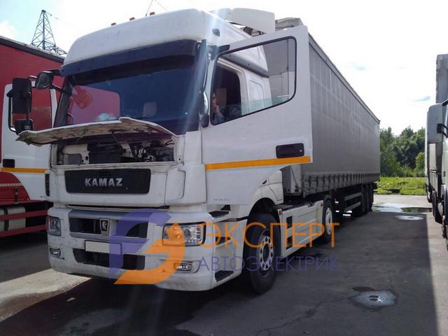 ремонт электрики КамАЗ-5490