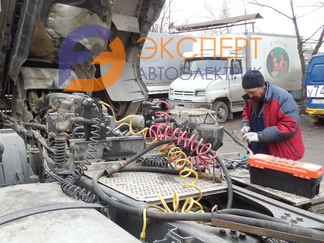 Ремонт электрики грузовиков с выездом в Царицыно