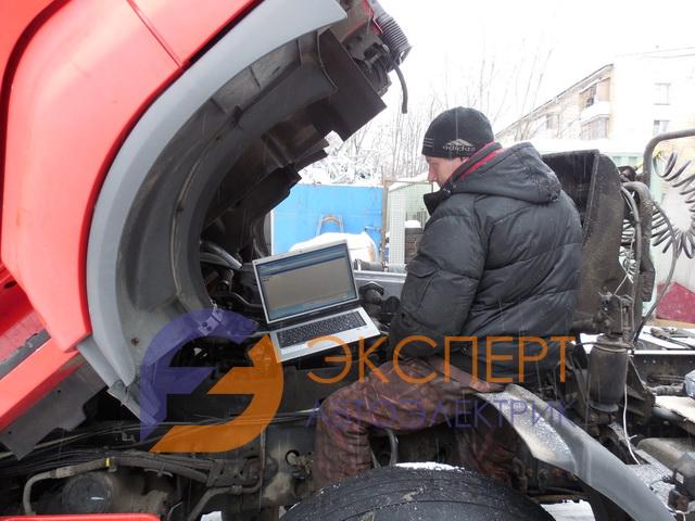 Выездная диагностика грузовых автомобилей Рено