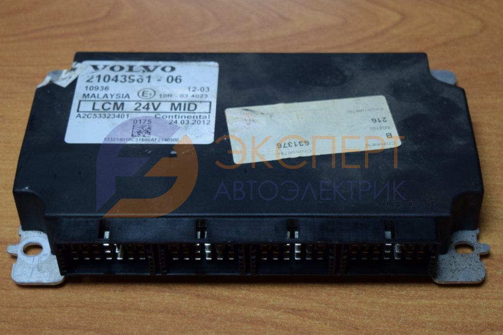 Блок управления светом VECU Вольво ФШ 21043961