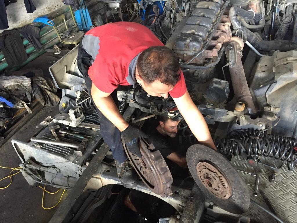 Замена диска сцепления на грузовом автомобиле
