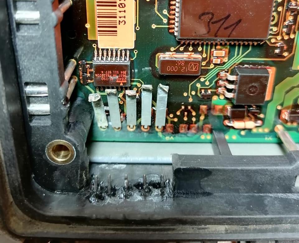 Восстановление контактов тормозного модулятора WABCO 4461080400