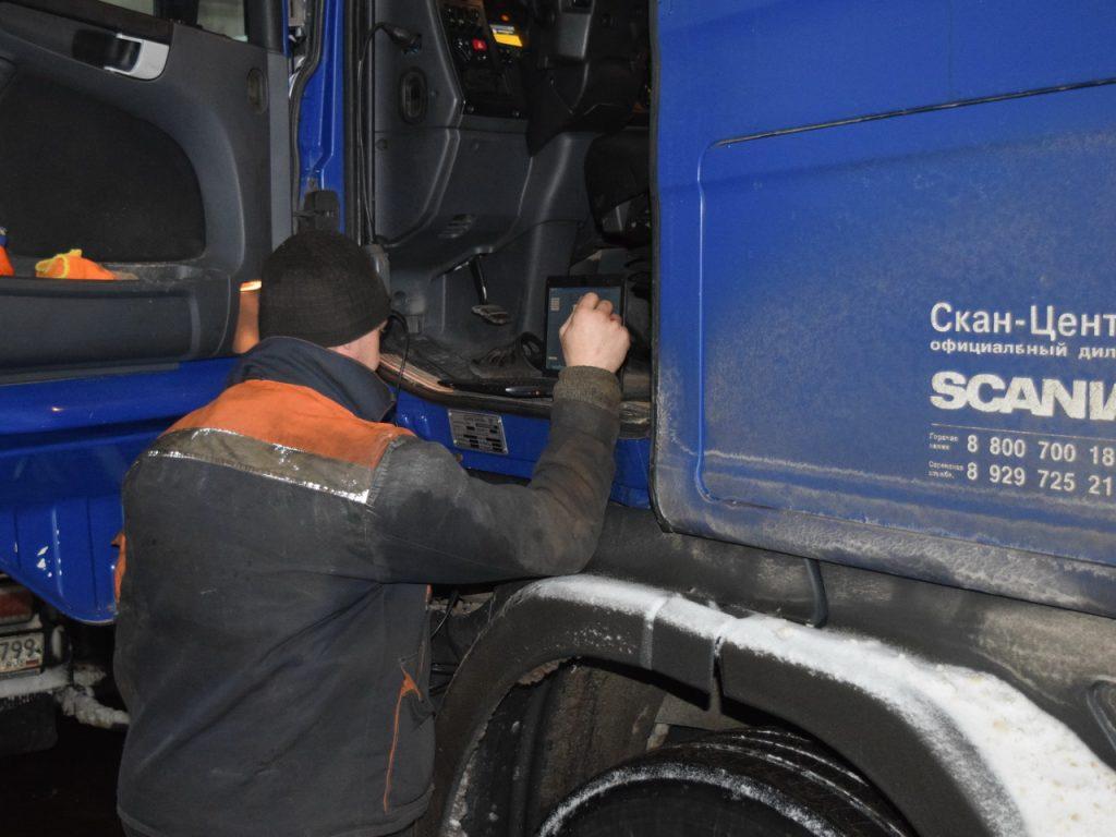 Диагностика Scania G400