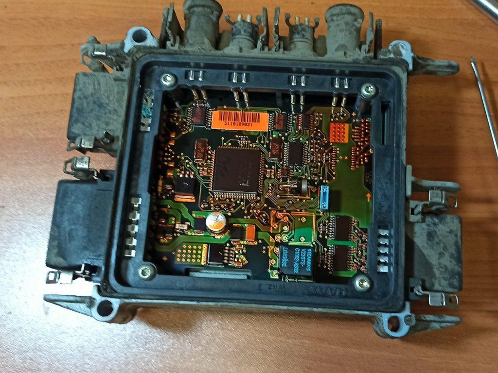 Электронная плата тормозного модулятора WABCO 4461080400