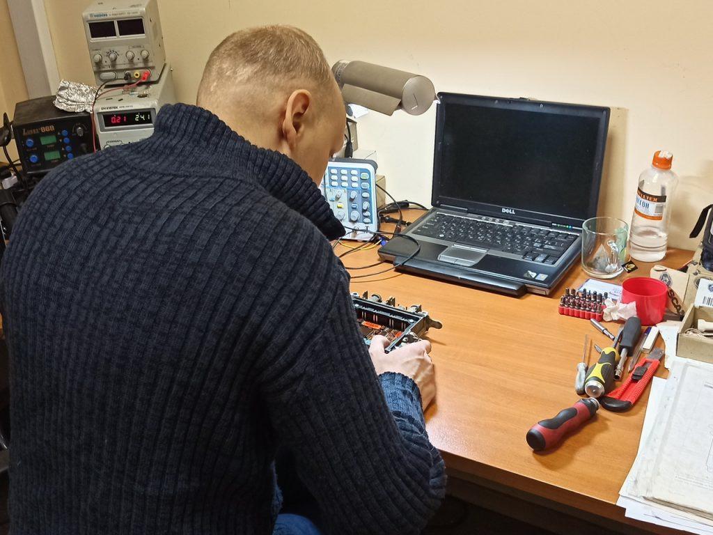 Ремонт тормозного модулятора ABS, EBS WABCO полуприцепа Renders