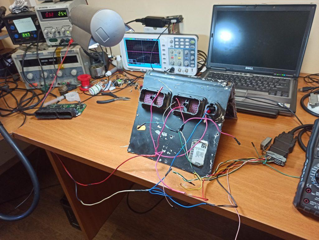 Ремонт электронного блока управления (эбу) Cummins CM2150